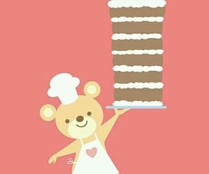 cake, birthday, and kawaii image