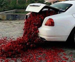 beautiful, car, and rose image