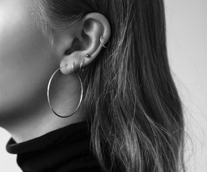 earrings, accessories, and Piercings image