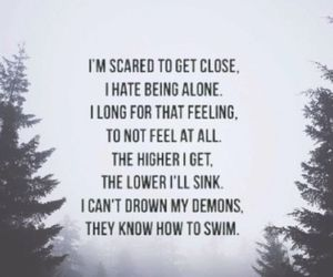 can you feel my heart, bmth, and bring me the horizon image
