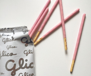 pocky, aesthetic, and pink image