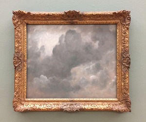 art, clouds, and grey image