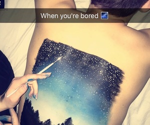 artist, drawing, and sky image