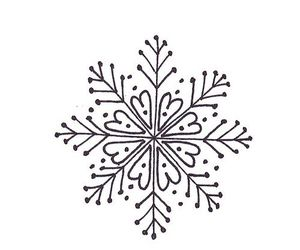 snowflake and tattoo image