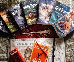 book, read, and harry potter image