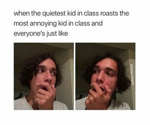funny, school, and funny thing image