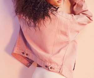 editorial, fashion, and pink image