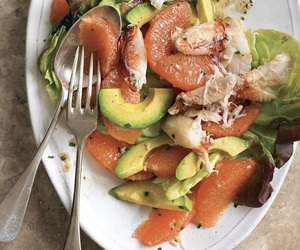 avocado, grapefruit, and healthy image