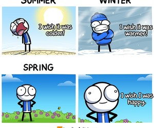 funny, spring, and meme image