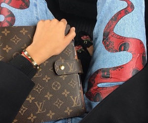 fashion, gucci, and Louis Vuitton image