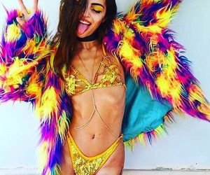 carnival, free spirit, and love image