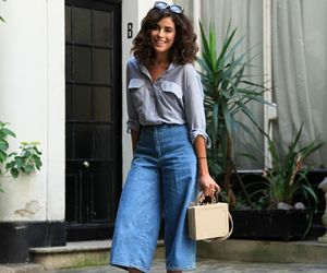 accessories, casual, and culottes image