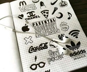 adidas, apple, and coca cola image