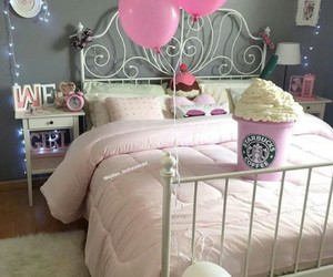 alarm, balloon, and bed image