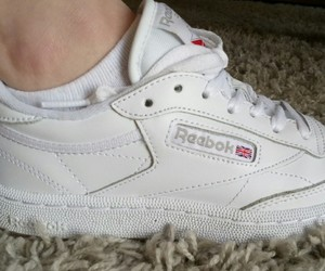 chaussures, Darkness, and reebok image