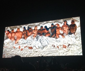 famous and kanye west image