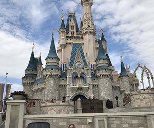 castle, explore, and florida image