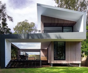architectural, australia, and beach house image
