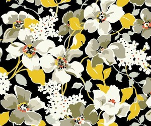 flowers, mood, and pattern image