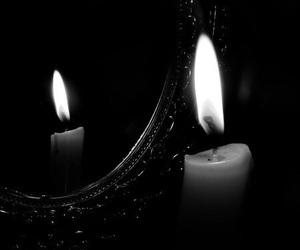 burn, gothic, and photography image