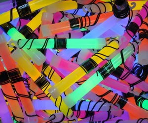 clusters, glow sticks, and textures image