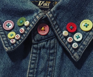 buttons, you, and clothes image