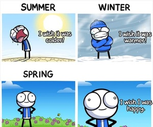 spring, funny, and summer image