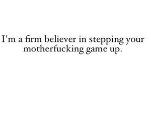 step up, word, and deep quotes image