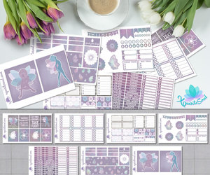 etsy, pastel colors, and life planner image