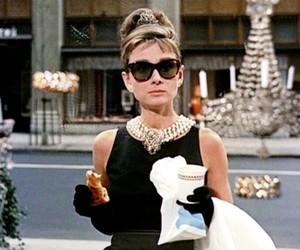 audrey hepburn, Breakfast at Tiffany's, and movie image