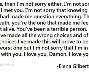 always, damon, and elena image
