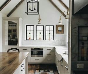 home decor, kitchen, and modern rustic image