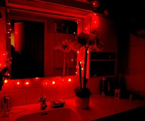 red, aesthetic, and dark image