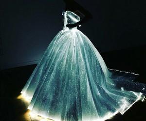 dress, light, and met gala image