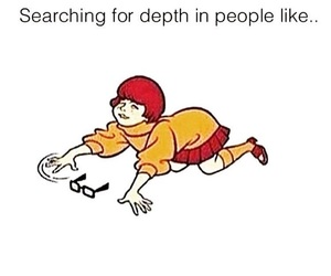 depth and people image