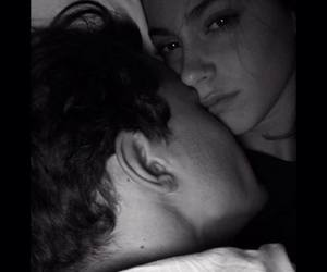 couple, cuddle, and martina stoessel image