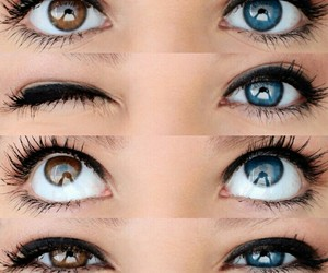eyes, beautiful, and blue eyes image