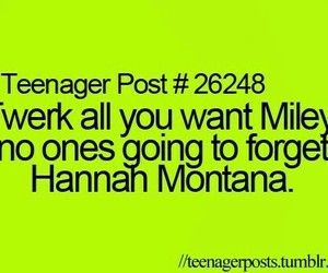 funny, hannah montana, and teenager post image