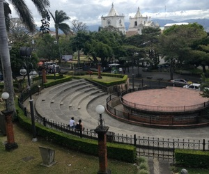church, costa rica, and park image