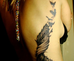 tattoo and birds of a feather image