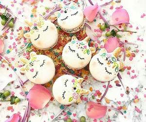 unicorn, sweet, and dessert image