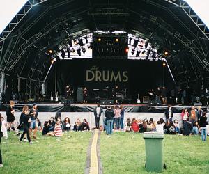 the drums, vintage, and indie image