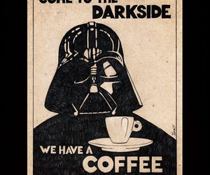 coffee and darkside image