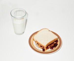 aesthetic, food, and milk image