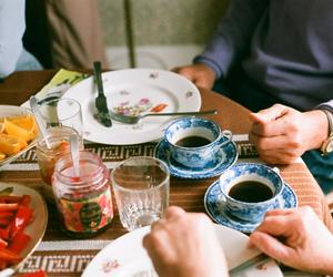 vintage, coffee, and food image