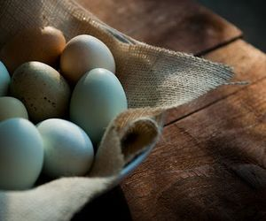 blue, easter, and eggs image