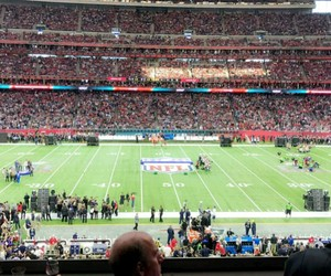 stadium, Texas, and snapchat story image