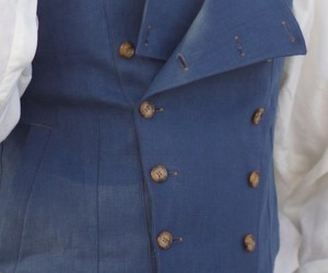 blue, coat, and men image