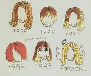cobain, idol, and kurt image