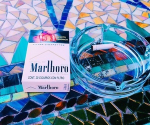 blue, relax, and cigarettes image